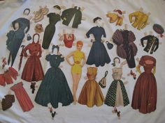 Lucy and Desi Paper Dolls, 1953