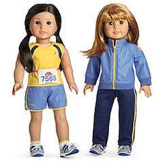 All American Runner Girl Dolls - so cute!