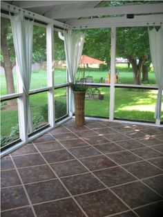 21 Rosemary Lane: Looking for a Weekend Project - Painted Concrete Floor