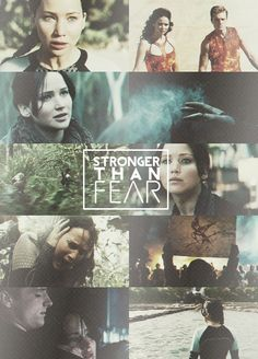 Stronger than fear. Catching Fire.