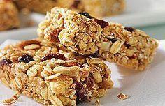 ¿Cómo preparar Barras de Granola?, sabrosa alternativa para una colación saludable   Cocina