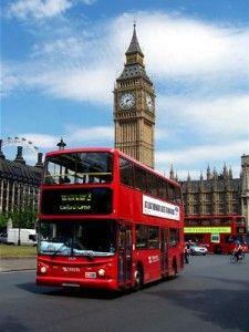 Londen steden bus trip Big Ben