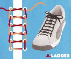 15 Amazing Ways to Tie Your Sneakers