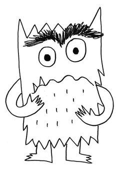 The Color Of Emotions Coloring - Grundschule Monster Activities, Book Activities, Preschool Activities, Emotional Abandonment, Emotional Intelligence, Monster Coloring Pages, Monster Book Of Monsters, English Activities, Preschool Art