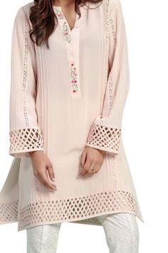 Stylish Dress Designs, Stylish Dresses, Simple Dresses, Casual Dresses, Sleeves Designs For Dresses, Dress Neck Designs, Blouse Designs, Pakistani Dresses Casual, Pakistani Dress Design