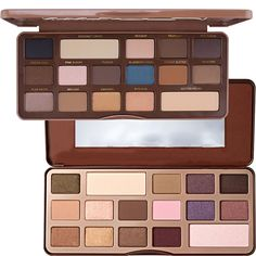 Naked Eyeshadow Palette 4 Style 16 Color Earth Color/18 Color Cosmetic Makeup Palette & Mirror Nake Eye Shadow Palette