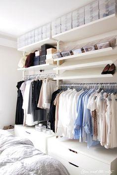 7x slimme kledingkasten voor een kleine slaapkamer - Roomed More