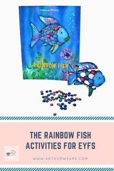 The Rainbow Fish Activities for EYFS - activity ideas, tuff tray resources, displays, planning and story props to help bring the sensory story of the Rainbow Fish to life and aid understanding of the moral - teaching children to share Rainbow Fish Eyfs, Rainbow Fish Story, Rainbow Fish Activities, World Book Day Activities, World Book Day Ideas, Color Activities, Colour Activities Eyfs, Preschool Activities, All About Me Eyfs