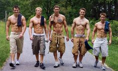 This is a page of (mostly) hot boys in cargo shorts. Not complaining...