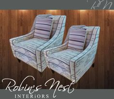 Looking to wow your visitors? This trendy lounge chair is the perfect way to do it. Get it at #RobinsNest today! #LoungeChair #Lifestyle