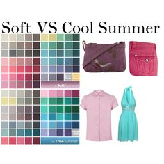 """Soft VS Cool Summer"" by soliferi-1 on Polyvore"
