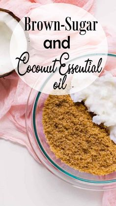 DIY Face Scrub Recipes, Brown Sugar & Coconut Oil - ★★★★★ In case you've ever wished to know how to make sugars scrub, you're well-off. Homemade sugars scrub tastes similar to cookie dough, in case you make it a certain method. Sugar Scrub For Face, Brown Sugar Scrub, Diy Face Scrub, Sugar Scrub Homemade, Diy Scrub, Homemade Face Masks, Homemade Skin Care, Baking Soda Scrub, Cleanser For Combination Skin