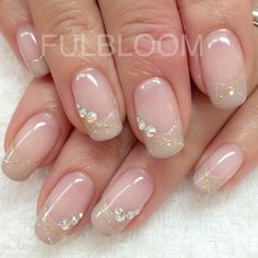 Modern Nail Art Designs that Are Too Cute to Resist Modern Nail Art Designs that Are Too Cute to Resist Romantic Nails, Elegant Nails, Stylish Nails, Acrylic Nail Designs, Nail Art Designs, Acrylic Nails, Modern Nails, Bride Nails, Rhinestone Nails