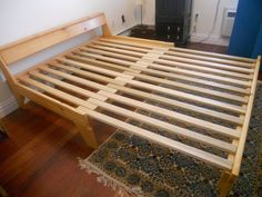 Futon Frame Google Search Bed Frames Queen Wood