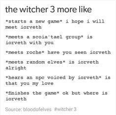 Iorveth, The Witcher 3