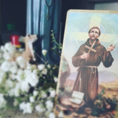 """""""I have been all things unholy. If God can work through me, He can work though anyone!"""" - St. Francis of Assisi  #Catholic  #EfrensSaintOfTheDay"""