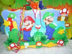 Piñata de Mario Bross