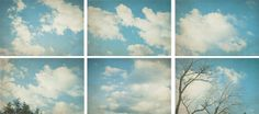 Cloud Photography white clouds turquoise by ParrishHousePhotos