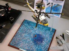 HH-60J Jayhawk 1/48 Scale Model Diorama