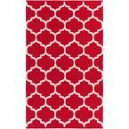Vogue Everly Cherry (Red) 2 ft. x 3 ft. Indoor Accent Rug