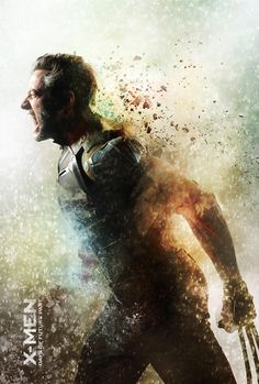 Jennifer Lawrence & Hugh Jackman Are Front & Center for New 'X-Men' Posters!: Photo Jennifer Lawrence and Hugh Jackman go front and center in this new poster for their highly anticipated movie X-Men: Days of Future Past. The film is uniting the… The Wolverine, Wolverine Poster, Wolverine Movie, X Men, Old Man Logan, Actor Hugh Jackman, Marvel Comics, Marvel Live, Marvel Heroes