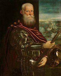 Sebastiano Venier,Doge of Venice, after 1571 (Tintoretto) (1518-1594) Kunsthistorisches Museum, Wien GG_32