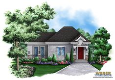 <ul><li>This quaint cottage home plan is the guest house for plan <a href ='http://www.architecturaldesigns.com/house-plan-66263we.asp'>66263WE</a>. It could be a guest house for any house plan with possibly some modifications to the front elevation. </li><li>This plan has a bedroom, a bath, kitchen and living area.  There is also a side deck. </li><li>Although a small floor plan, it is well laid out.</li></ul>