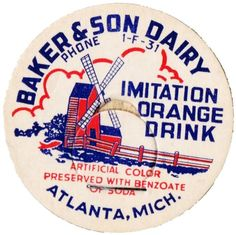 Vintage Dairy Bottle Caps - Knick of Time