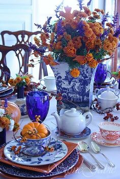 Autumn tablescape- Novara Way