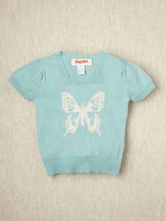 Butterfly top so cute