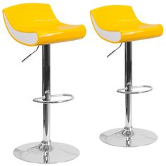 Found it at AllModern Adjustable Height Swivel Bar Stool