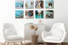 Een fotowand maken thuis