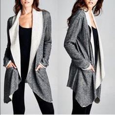 CAYMIELYNN terry cardigan SZ Large Brand new in wrapping purchased from fellow posher for 48 plus ship.  Purchased for gift and it didn't work out for me.  Have to charge fees here but will do other purchase options for 52 plus your ship just ask. NO TRADES!  Thank you!  I just want to get what I paid for the item 52 dollars Jackets & Coats
