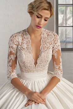7746 | Cosmobella Bridal Available at It's Your Day Bridal Boutique. 1661 Front Road, LaSalle, Ontario 519-978-5003