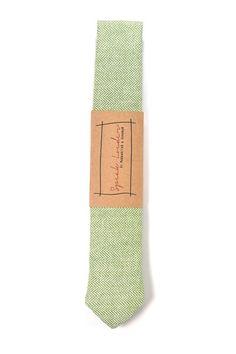 Krawatte aus Wolle // wool tie via DaWanda.com
