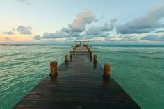 Atardecer en la playa, Riviera Maya #foodandtravelmx #viajerogourmet