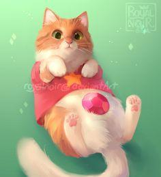 Cosplay Cat: Steven U. by RoyalNoir on DeviantArt