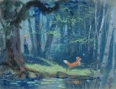 Fox and the Hound concept art - Google 検索