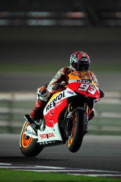 Marquez, Qatar MotoGP 2013 un animal.....si ganara seria una bestia. Buen comienzo