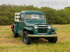 :1956 Willys Jeep Pick Up Truck