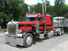 1988 Peterbilt 359. many mile's behind the wheel of this truck.