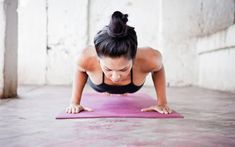 The infamous Chaturanga Dandasana , a.k.a. the yoga push-up or low plank. Most people, including me, have done it either wrong and/or half-assed for years and this is not a good thing.