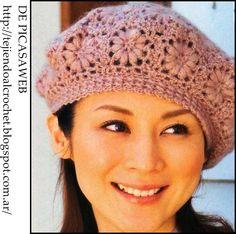 36c5d652152de 12 mejores imágenes de Boinas de crochet