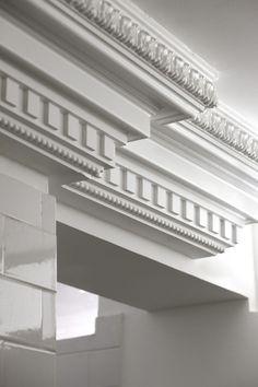 House Front Design, Door Design, Exterior Design, Classic Architecture, Architecture Details, Gypsum Design, Cornice Design, Gypsum Decoration, Classic House Exterior