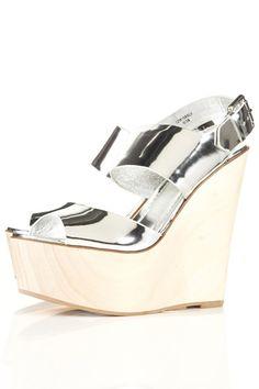 We've taken a shine to metallic shoes