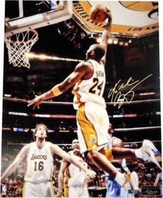 Kobe Bryant Signed Autograph 16x20 Photo Black Mamba 83993d2fa
