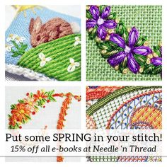 Put some Spring in your Stitch! – NeedlenThread.com