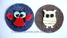 Halloween Owl- Vampire and Mummy