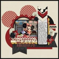 My Girl Minnie1 - MouseScrappers - Disney Scrapbooking Gallery