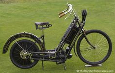 1894 Hildebrand & Wolfmüller Motorcycle  ...Steam-Powered Motorcycle & Vélocipède History